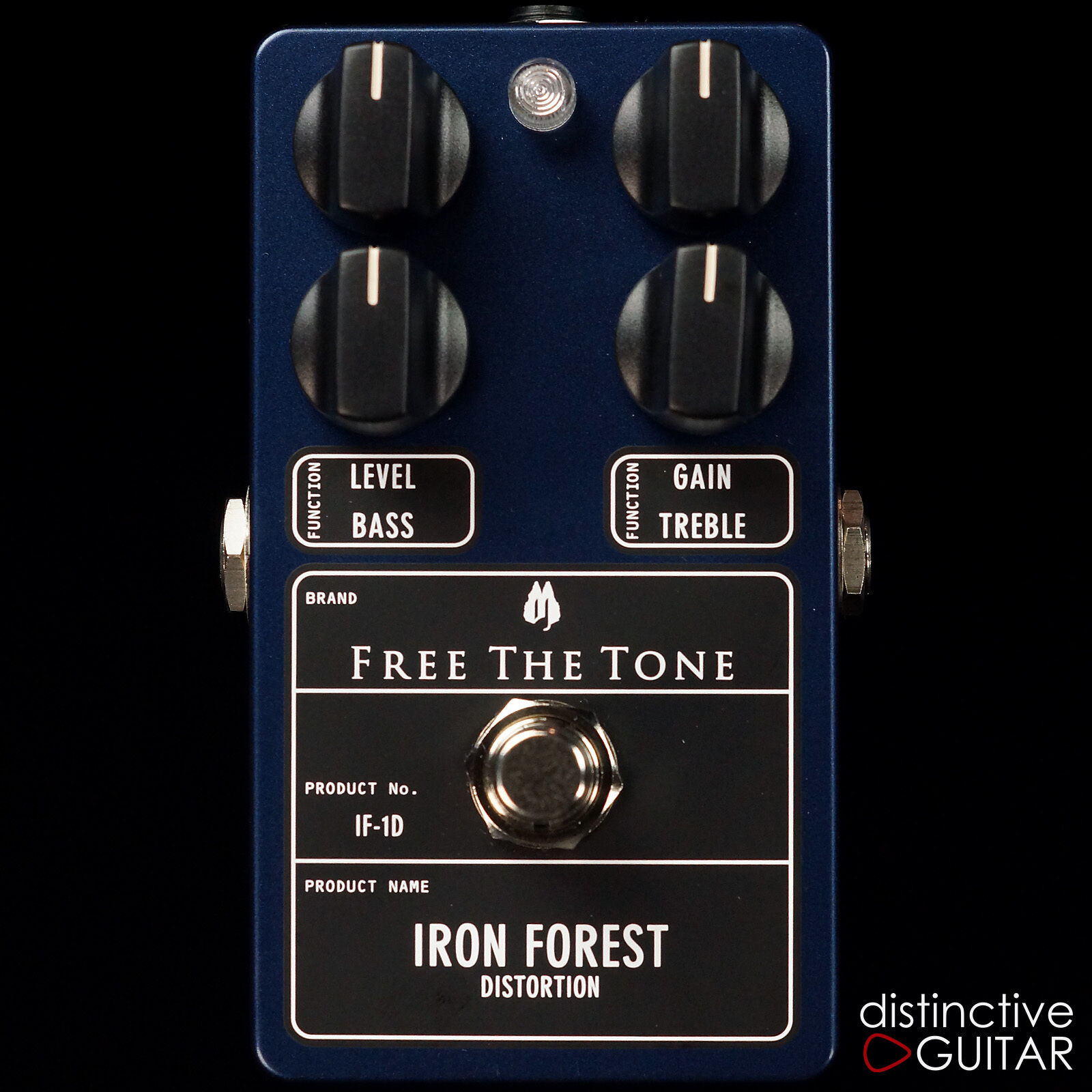 NEW FREE THE TONE IF1D IRON FOREST DISTORTION BOUTIQUE TOUCH SENSITIVE FX PEDAL