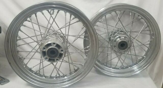 Used Harley Davidson Wheels >> Harley Davidson 40 Spoke 16x300 D Dot Front Chrome Wheel