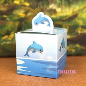 12X-Dolphin-Birthday-Party-Baby-Shower-Christening-Favour-Gift-Blue-Box