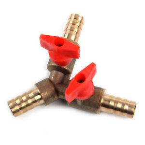 3-8-034-10mm-Messing-Y-3-Weg-Absperrventil-Abzweigventil-Absperrhahn-Gasverteiler
