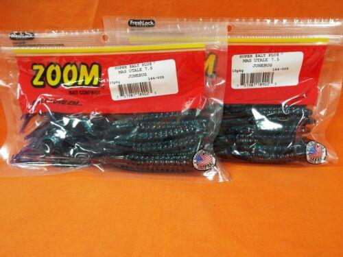 ZOOM MAG U-Tale 7.5 Worm 2 PCKS 15cnt #144-005 JUNEBUG