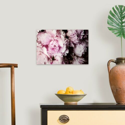 Peonies Galore I Canvas Wall Art Print Peony Home Decor