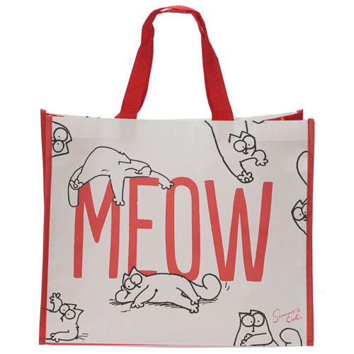 Simon/'s Cat Meow Shopping Bag Household Toy Storage Women/'s Handbag Travel Gift