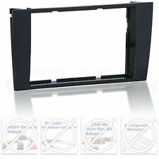 Radio Blende für AUDI A4 B5 ab Bj. 99 DD Doppel 2 DIN Auto Radio Einbau Rahmen