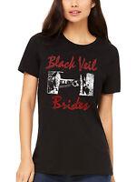 Official Black Veil Brides Loiter Women's T-Shirt Blood Fire Death Hammerheart