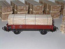 z.B 2.6 H0- Ladegut  Beladung  Bretterstapel für Märklin Wagon  4514 passend