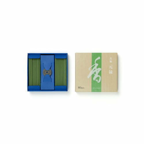 135a Shoyeido Japan SENKOU Incense Stick Sandalwood GENROKU 80 sticks x 5 packs