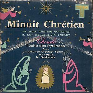 EP-3-TITRES-CHORALE-L-039-ECHO-DES-PYRENEES-MINUIT-CRETIEN-M-CROUTZET
