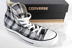 Converse All Star Stivali Grigio tessile / lino NUOVO