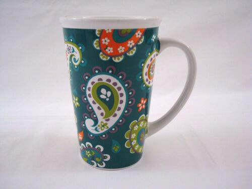 Boston Warehouse Green Vintage Ceramic Beer Stein Big Tall Coffee Mug China