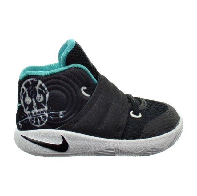 best authentic 2f0ee b1736 Nike Kyrie 2 TD Toddler Kids Basketball Shoes Black Jade White 827281-001
