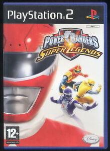 1 Retro Gioco Playstation Ps 2 Game Sentai Tokusatsu Power Rangers
