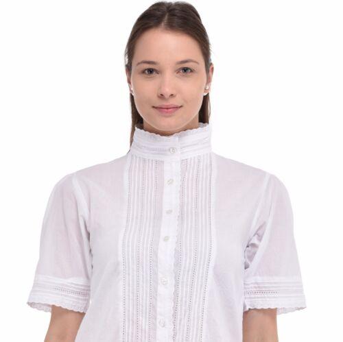 Plus size en coton blanc chemisiercoton Lane