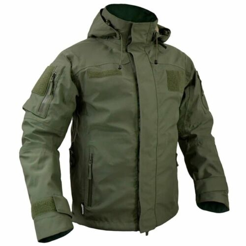 Texar Jacket Tactical Combat Army Hooded Conger Mens Olive