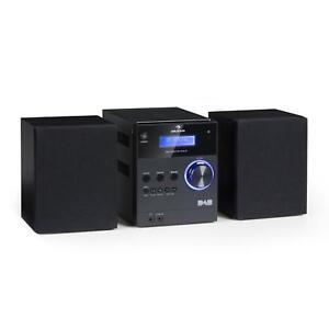 micro bluetooth stereoanlage mp3 usb dab digitalradio cd. Black Bedroom Furniture Sets. Home Design Ideas