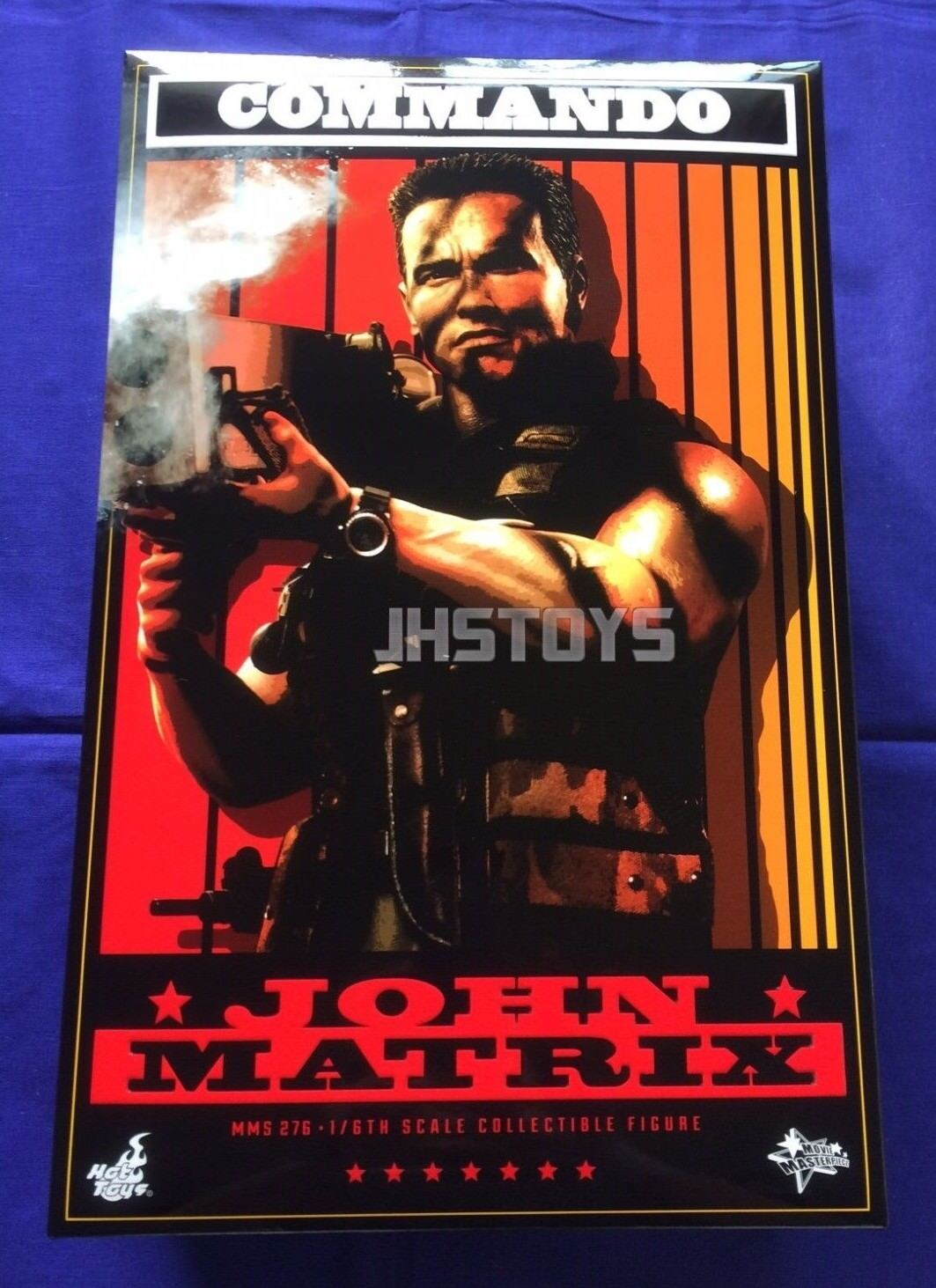 Hot Toys 1 6 Commando John Matrix MMS276