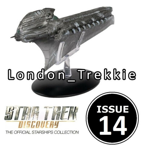 Numéro 14 Klingon Cleave Starship EAGLEMOSS STAR TREK Discovery Précommande