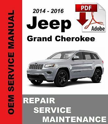 OEM Digital Repair Maintenance Shop Manual CD for Jeep Grand Cherokee 1999