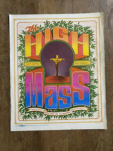 Original-vintage-blacklight-poster-The-High-Mass-Bob-Fried-Head-Shop