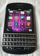 BlackBerry Z10 - 16GB - Black (Unlocked) Smartphone for sale
