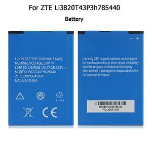 Zte-l2-plus-li3820t43p3h785440-battery-battery-rechargeable-batterie-akku-2000-mah