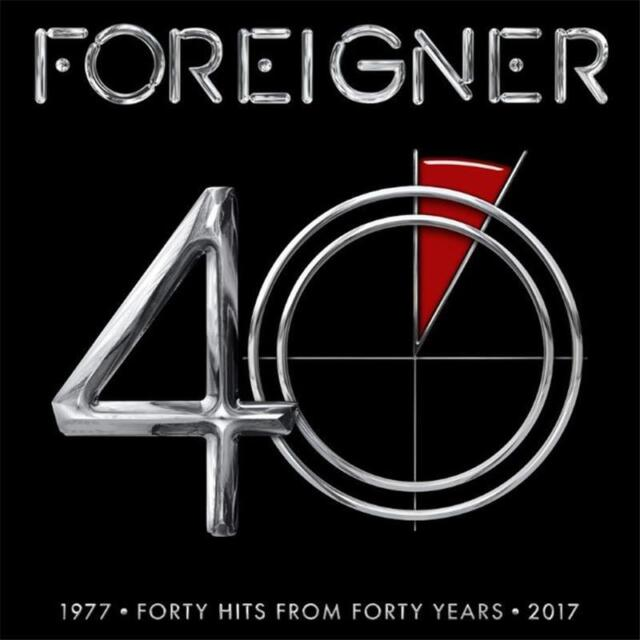Foreigner 40 Forty Hits From Forty Years 1977-2017 Remastered 2 CD DIGIPAK NEW