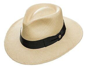 """Chapeau Panama Hommes Femmes Fedora Chapeau Bogarthut Capone Style Noble & élégant """"linus""""-afficher Le Titre D'origine Qualité Et Quantité AssuréE"""