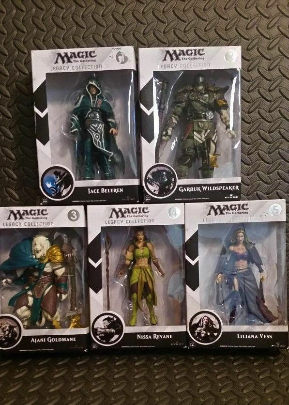 Magic The Gathering - Legacy Collection NEW (5 Figure Lot)
