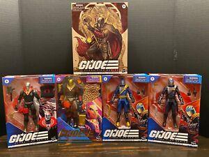 G.I. Joe Classified Destro, Profit Director Destro, Cobra Commander x3 Lot