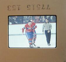 LEON ROCHEFORT Montreal Canadiens  New York Rangers RED WINGS ORIGINAL SLIDE 1