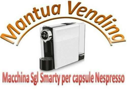 Macchina Sgl Smarty per caffè in capsule Nespresso e compatibili