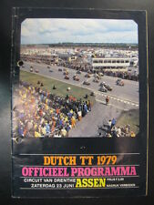 Officieel Programma Dutch TT Assen 1979