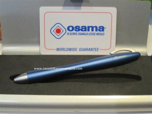 OSAMA penna roller aereodinamica blu