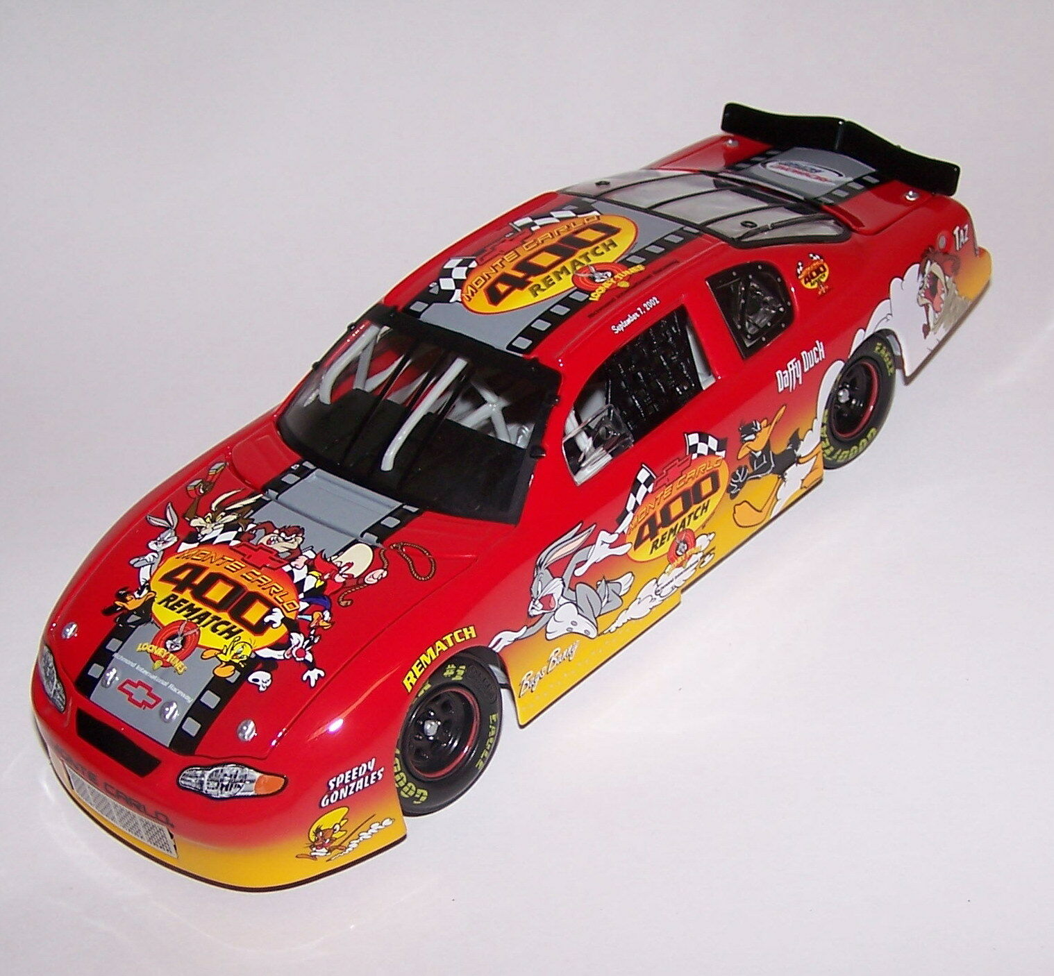 Looney Tunes revancha evento coche 2002 Monte Carlo acción 1 24 Escala