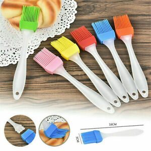 5X Silicone Baking Bakeware Bread Cook Pastry Oil Cream BBQ Tool Basting Brush