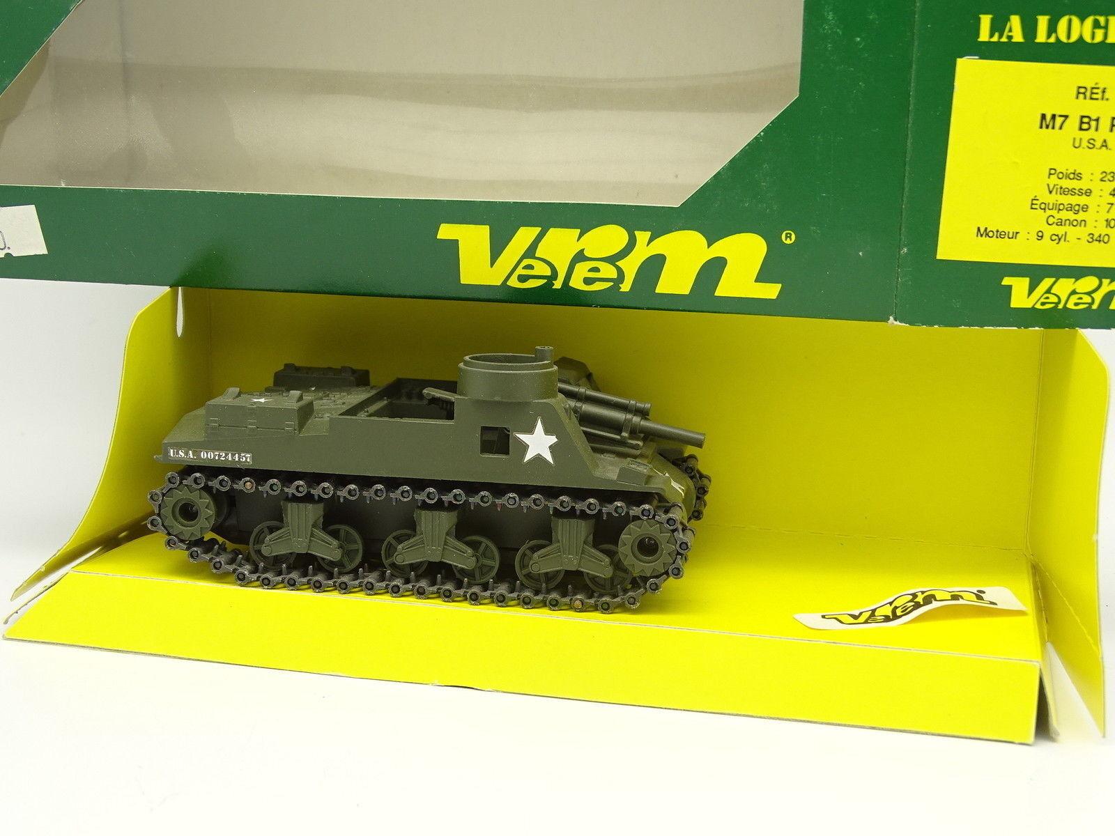 Verem Militare Esercito 1/50 - Char Tank M7 B1 Priest USA 1942