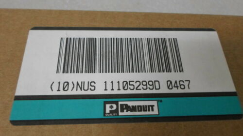Panduit Pan-Net WMPFS Rack Space Cable Management Panel FRONT ONLY NEW OPEN BOX