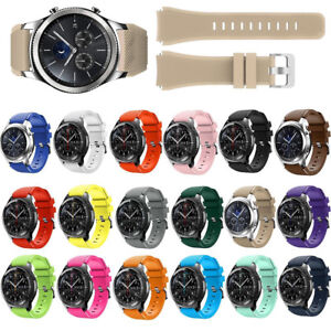 Sports-Silicone-Bracelet-Strap-Watch-Band-For-Samsung-Gear-S3-Frontier-Classic