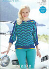 Ladies Tops in Sirdar Amalfi DK Yarn, Knitting Pattern 7775