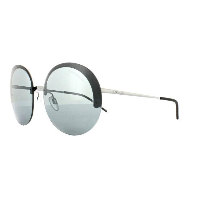 4a7f82ac79a Emporio Armani Sunglasses EA 2044 30156g Gunmetal   Silver Mirror 61 ...