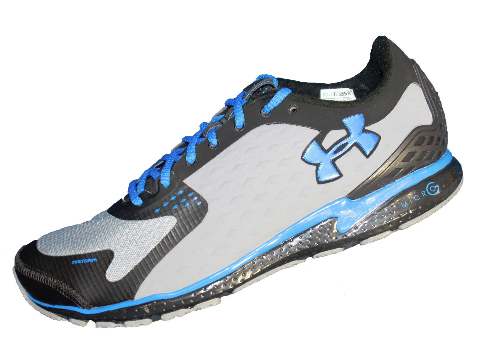 hommes Under Armour Micro G Defy Storm Running Chaussures - 1237022-004