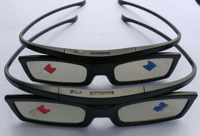 e647f356fcbd 4x Genuine 3d Glasses Ssg-5100gb for Samsung LED Plasma Smart TV for ...