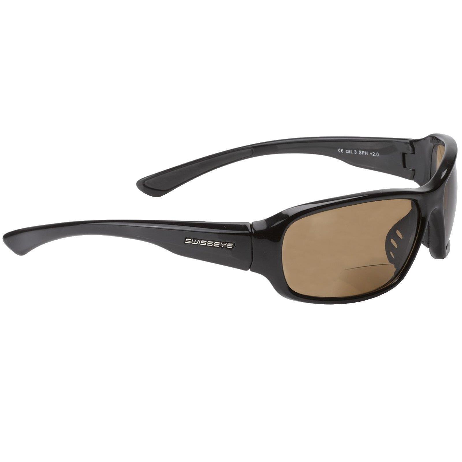 Swiss Eye Fahrrad Sport Brille Freeride Bifocal 2,5 Dioptrie Lesehilfe brown