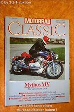 Motorrad Classic 3/92 MV 750 S Ardie NE Triumph NSU