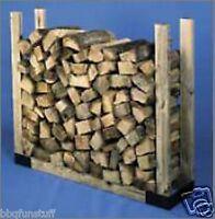 Hy-c Adjustable Steel Firewood Storage Rack Bracket System Lrk
