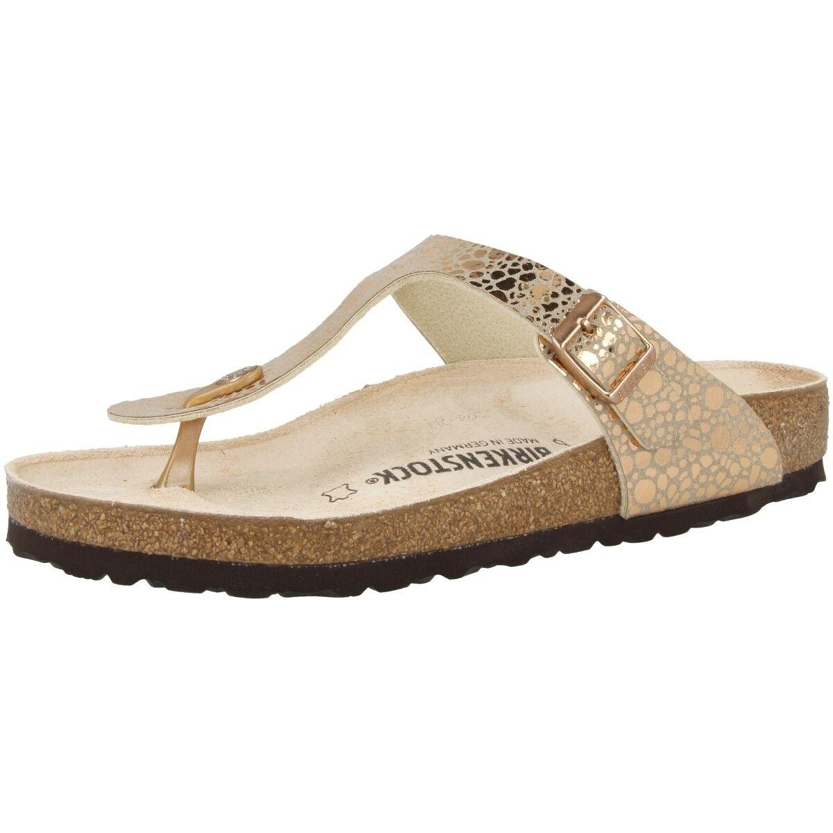 Birkenstock Gizeh Birko-Flor Damen Zehentrenner Sandale Weite normal 1005674
