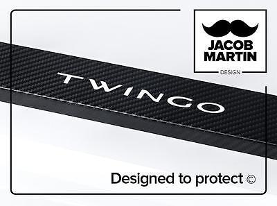 CARBON Vehicle stickers Door sill Renault Twingo III (2014-)