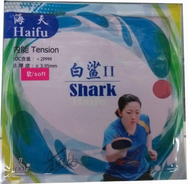 HaiFu shark II (Factory Tuned) Pips-In Table Tennis Rubber Sponge, New