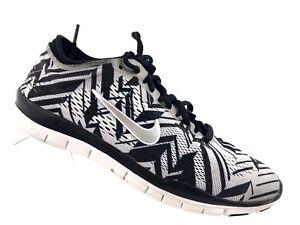 0f119a49bf139 Nike Women s Free 5.0 TR Fit 4 PRT Training Shoe Black Silver Whi ...
