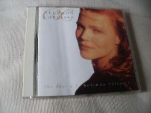 BELINDA CARLISLE  THE BEST OF BELINDA VOLUME 1  15 TRACK CD ALBUM - Gloucester, Gloucestershire, United Kingdom - BELINDA CARLISLE  THE BEST OF BELINDA VOLUME 1  15 TRACK CD ALBUM - Gloucester, Gloucestershire, United Kingdom